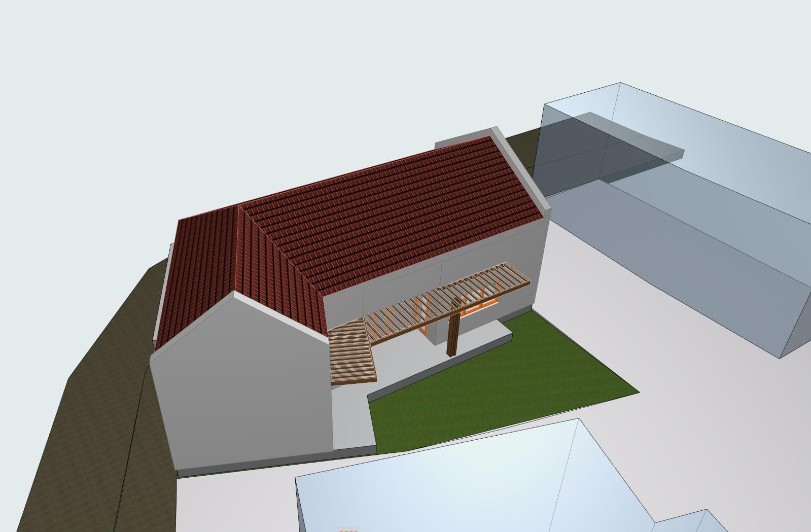 Vand teren cu proiect de casa zona Podgoria-Ineului