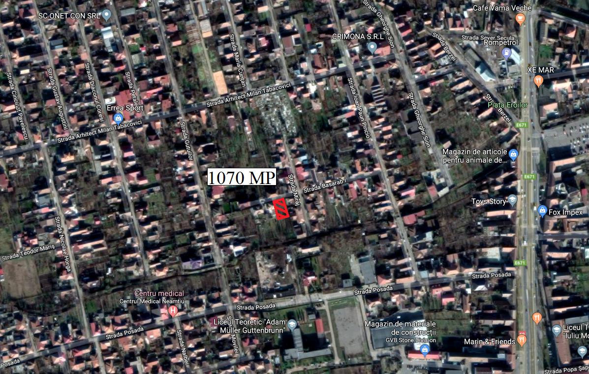 Vand teren zona Aradul Nou-Tabacovici