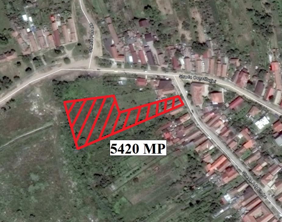 Vand teren zona Aradul Nou