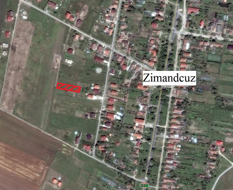 Vand teren in Zimandcuz