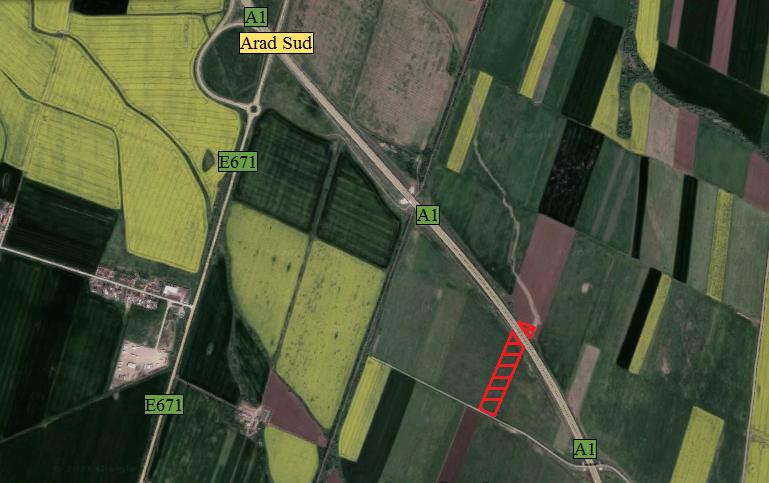 Teren langa autostrada - 1